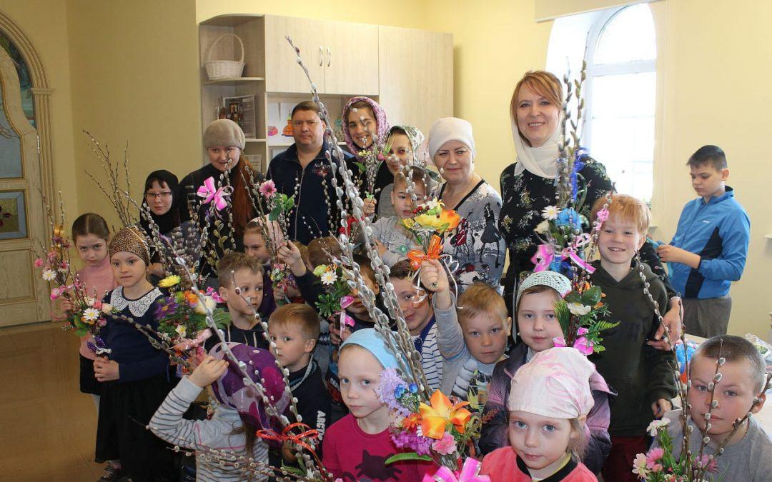 Открытие воскресной школы в Барнауле